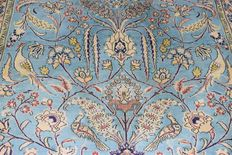 Persian Qom/Ghum carped 1950/1970 – wool on silk and cotton – 205 x 135 cm
