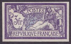 France 1925/1926 - unperforated - Yvert #206b