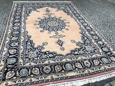 Original Iran Persia Yazd hand knotted 350x250 cm with SIGNATURE