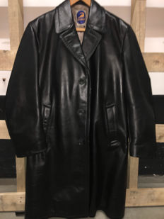 Gelmok leather motorcycle jacket size L/XL - ca. 1960