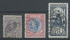 The Netherlands 1872/1923 – King Willem III and Anniversary of the Reign NVPH 28, 29, 131