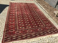 LIKE NEW TURKMEN RUG 380x220 Hand knotted