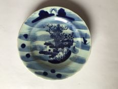 Porcelain plate – China – 19th century
