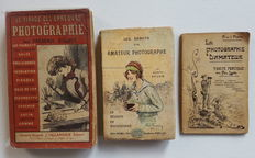 Three vintage books on the techniques of Amateur Photography and 6 brochures on development techniques.