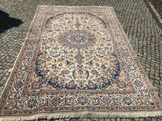 OLD PERSIAN RUG -NAIN hand knotted -  300X200cm