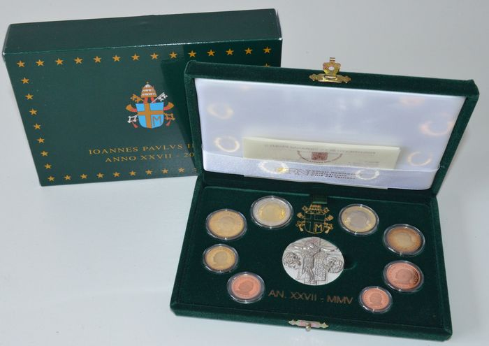 Vatican – Year pack 2005 (Proof) – John Paul II