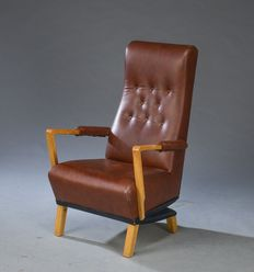 O.H. Sjögren - Ergonomic chair, 'Seat-up' model