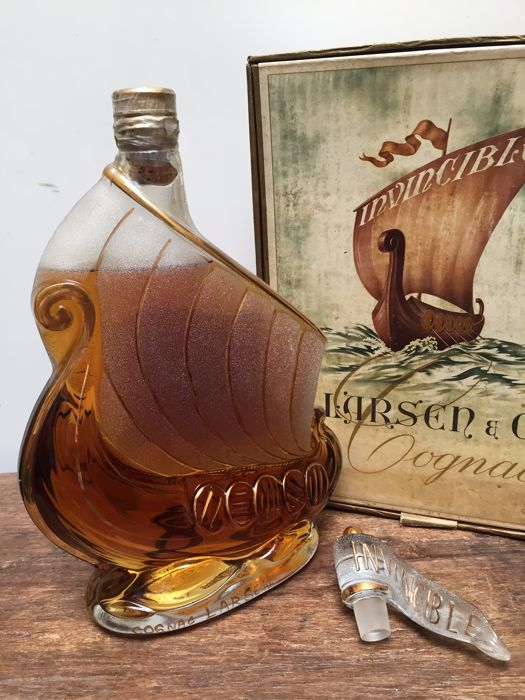 Larsen Invincible Viking Ship -  Bottled 1970s