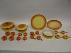 superb collection pate oven dishes Sphinx Parafeu Maastricht, 21 items