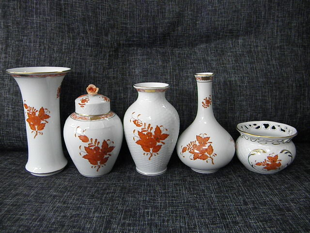 Herend 5 Vases Catawiki