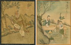 Two drawings on paper - China - Late 19th Century - Early 20th