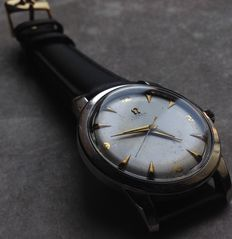 Omega Bumper - men's wristwatch - 1952 - Ref. 2577 - very rare