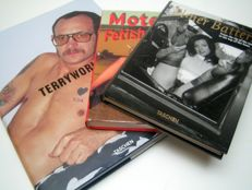 Photography; Lot with 3 kinky photo books-2008/2012