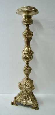 Driven hollow church candlestick - Ca. 1900 - France