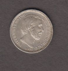 The Netherlands – 10 cents 1871 Willem III – silver