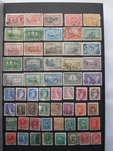 Canada - Collection of +-2400 stamps in stocbook