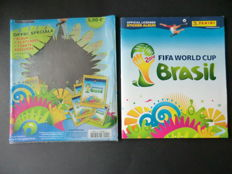 Panini - 2014 FIFA World Cup Brasil - Complete album - Including original sleeve - Wonderful condition.