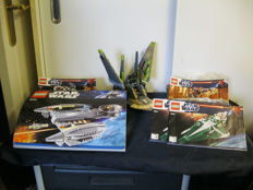 Star Wars 5 sets including 8095 + 75024 - General Grievous' Starfighter + HH-87 star hopper