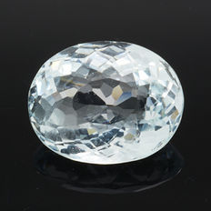 Blue aquamarine – 6.19 ct