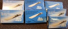 Rico Royal reeds for Bb clarinet, 6.7 box of 10 pieces, size 1.5, 2.0 and 3.5