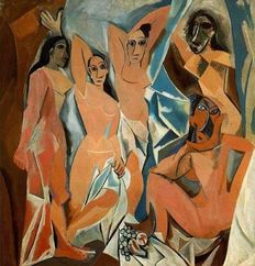 Pablo Picasso (after) - The Women of Avignon