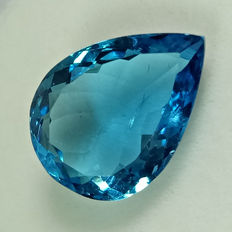 Swiss Blue Topaz - 7.08 ct