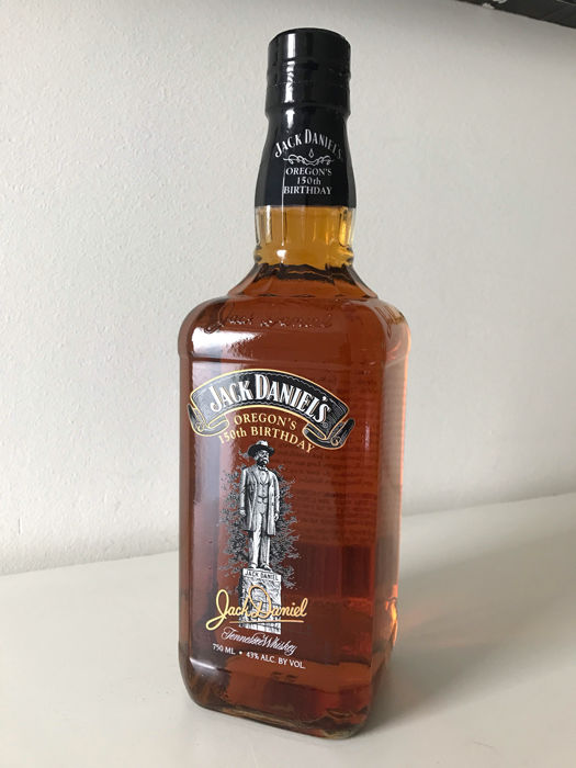 Jack Daniels oregons 150th birthday, used for sale