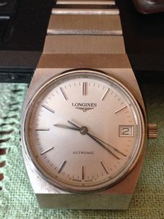 Longines Ultronic men's watch, 1970s