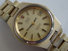 Omega Seamaster f300hz chronometer, vintage men's wristwatch, 1973
