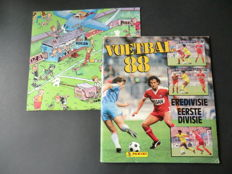 Panini - Voetbal 88 - Complete album - In very good condition - Including the corresponding large poster.