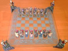 Chess and Chessboard King Arthur