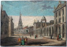 Unknown artist (18th century) - View at the Maria Church in Oxford - 18th century