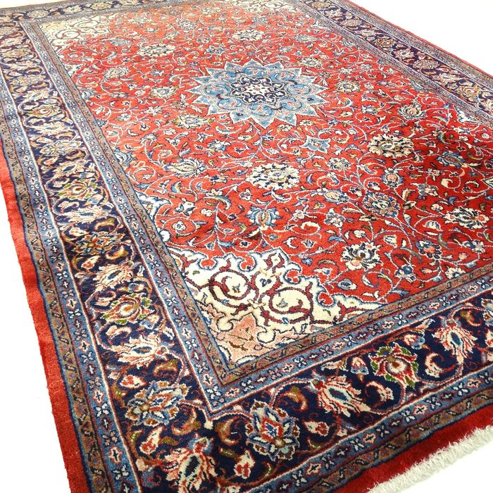 "Sarough Mahal, 325 x 213 cm, ""Impressively large Persian rug in  splendid and nearly unused condition"""