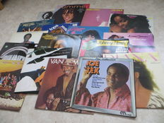 SOUL, FUNK lot of seventeen (17) LP's