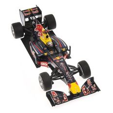 Minichamps - Schaal 1/18 - Red Bull Racing Renault RB6 S. Vettel Winner Brazilian GP 2010