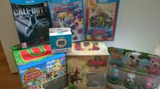 WIIU Lot of 5 games + 6 Amiibo + WII FitU Meter - incl Zelda: Twilight Princess HD Limited Edition and Zelda: The Wind Waker