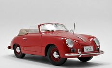 Signature Models - Scale 1/18 - Porsche 356 Cabriolet 1950 - Red
