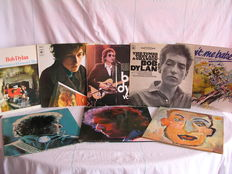 Bob Dylan - A Lot of 8 Albums including three double Albums total 11 Records with At Budokan, SelfPortrait, Little White Wonder and many more.
