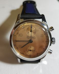 Waltham chronograph men's wristwatch - 1950/60s