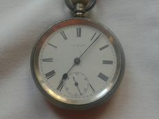 British pocket watch with double case – Late 1800s/early 1900s