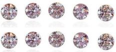 20 pink diamonds – 0.20 ct in total *** NO RESERVE ***