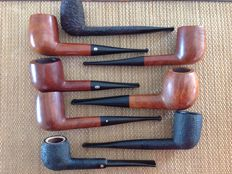 Lot of no. 8 very nice pipes ... Oscar Savinelli, Chacom, Jeantet.....