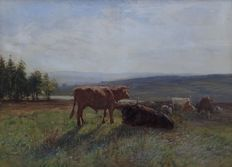 John Atkinson (1863 - 1924) - Scottish highlanders in the field