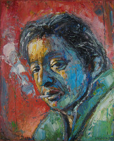 Laurent Chimento -Portrait de Serge Gainsbourg