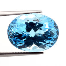 Swiss Blue Topaz – 15.38 ct