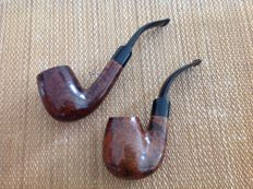 "Lot of two nice pipes, Butz Choquin "" Regate "", plus GBD "" Valois "", Must see !!"