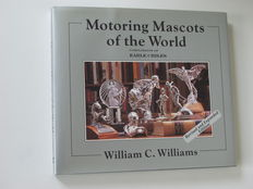 "Beste Car mascot boek ""Motoring Mascots of the World"" - hood ornaments and car mascots - 232 pag."