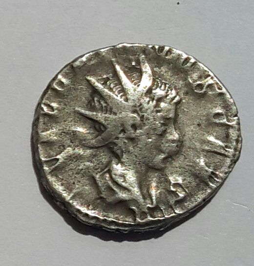 Roman Empire – Valerian II AR Antoninianus.