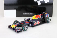 Minichamps - 1/18 Scale - Red Bull Racing RB6 S.Vettel Abu Dhabi GP 2010 World Champion