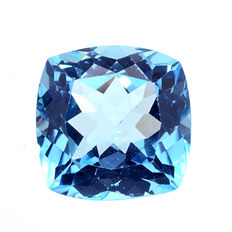 Swiss blue topaz – 18.57 ct